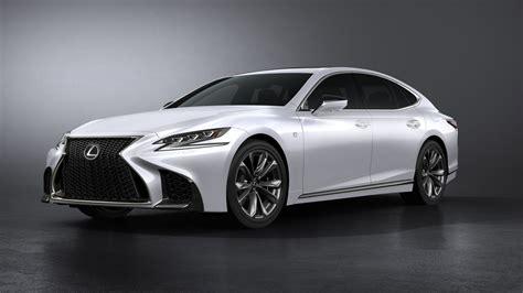 lexus sports car white wallpaper lexus ls 500 f sport white 2017 new york auto