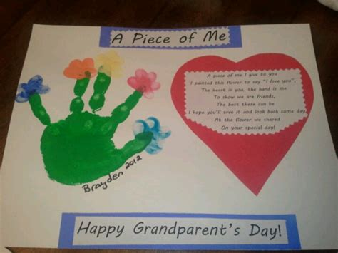 grandparent s day craft from my preschoolers teacher s
