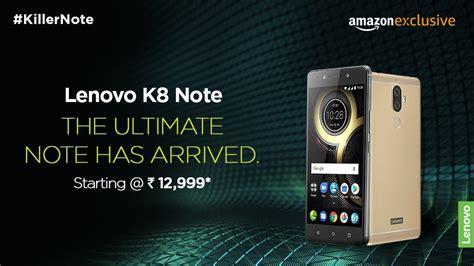 Lenovo Vibe K8 Note lenovo k8 note impressions powerful performance with technology