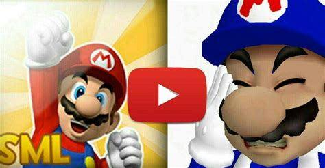 S M L mario youtuber review comparison sml smg4 mario amino