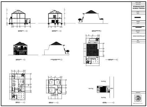 Contoh Gambar Format Swf | format kertas gambar teknik contoh gambar kerja format