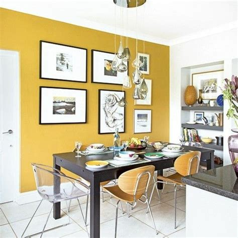 kitchen feature wall paint ideas la couleur jaune moutarde nouvelle tendance dans l