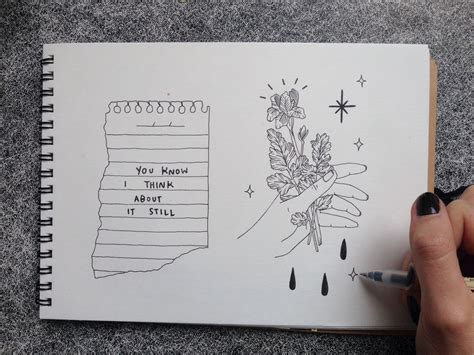 Drawing Journal Ideas by Snapchat Tumblruserblunt Photo