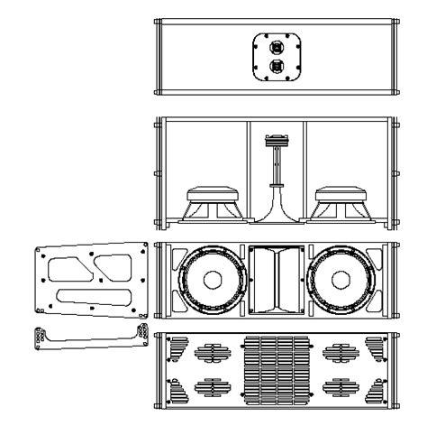 Speaker Subwoofer 15 Inch Lapangan box speaker line array 15 inch