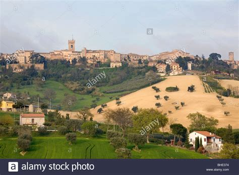 marche recanati recanati marche italia stock photo 27969400 alamy