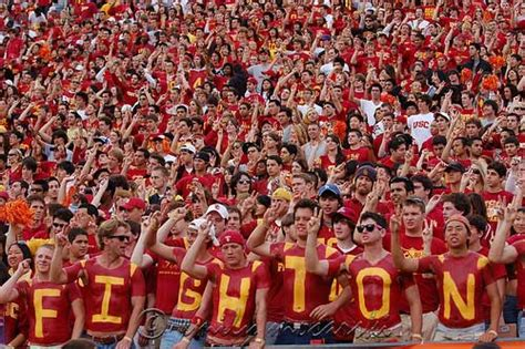 usc student section usc football viterbi voices