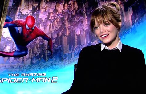 emma stone youtube interview emma stone interview the amazing spider man 2 2014