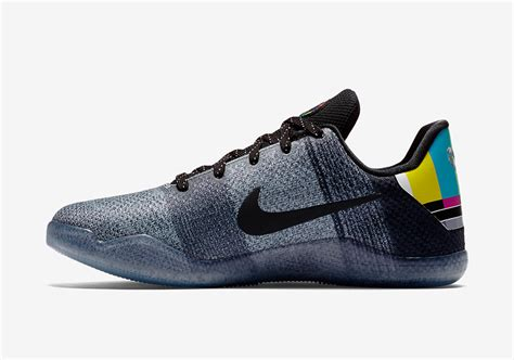 Color Green by Kobe 11 Icy Sole