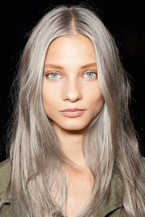 Looking With Grey Hair | grey hair looks and an easy tutorial that will have you