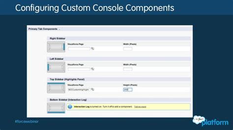 cloud console api salesforce api series service cloud console dive