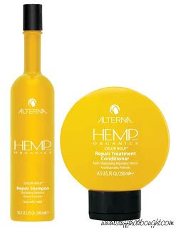 Alterna Professional Haircare Hemp Repair Conditioner by Alterna Hemp For Mellow Hair Stuff That I Bought