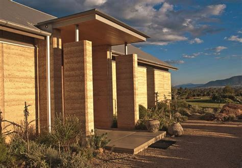 rammed earth house rammed earth homes construction of walls houses more
