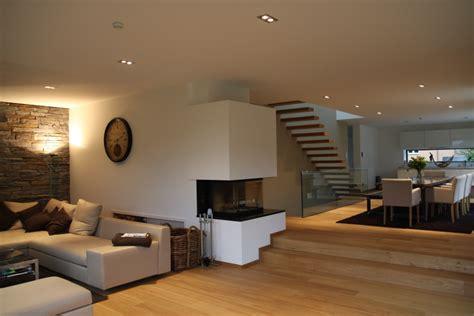 offener wohnbereich einfamilienhaus f heinze de - Beleuchtung Einfamilienhaus Neubau