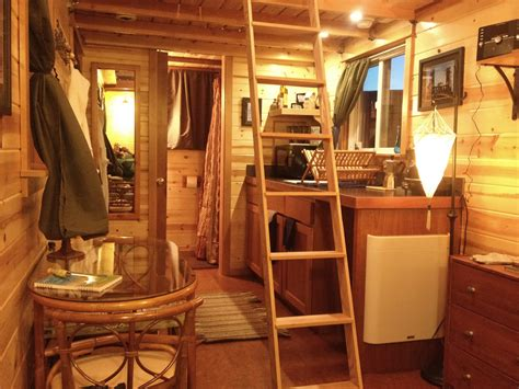 interior of small house caravan the tiny house hotel tiny house design