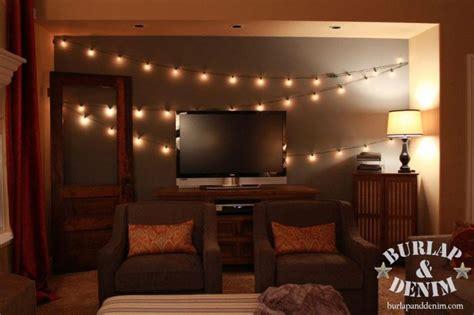 Canopy Beds Curtains indoor garden lights of summer burlap amp denimburlap amp denim