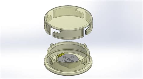 Twist Lock - twist lock cylindrical enclosure 3d cad model library