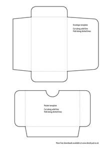 mini envelope template free mini envelope and pocket templates printable dendryad