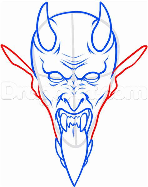 how to draw a tattoo how to draw a satan step by step tattoos pop