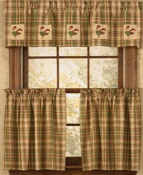 27 Best Redoing Kitchen Ideas Images On Pinterest Rooster Kitchen Curtains Valances