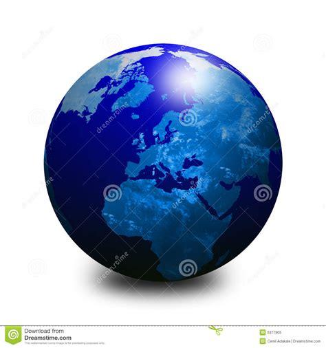 Blue World blue world globe 3 stock illustration image of east