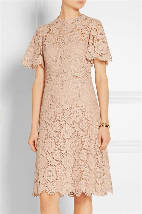 Dress Brukat valentino cotton blend lace dress net a porter