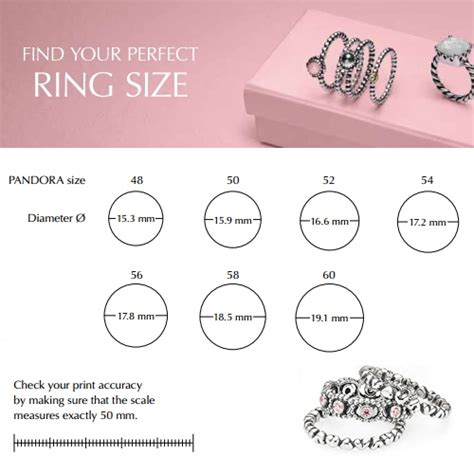 Printable Ring Sizer Pandora