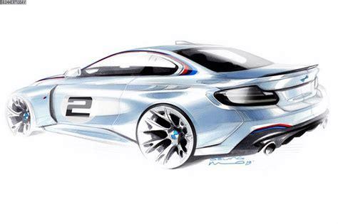 Skizze Auto by Bmw M235i Racing Farbige Teaser Skizze Zum Kundensport Renner
