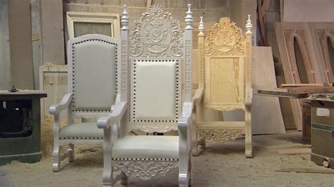 6 cool chairs the popes used epicpew