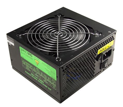 computer power supply fan black 500w 12cm silent fan pc power supply atx computer
