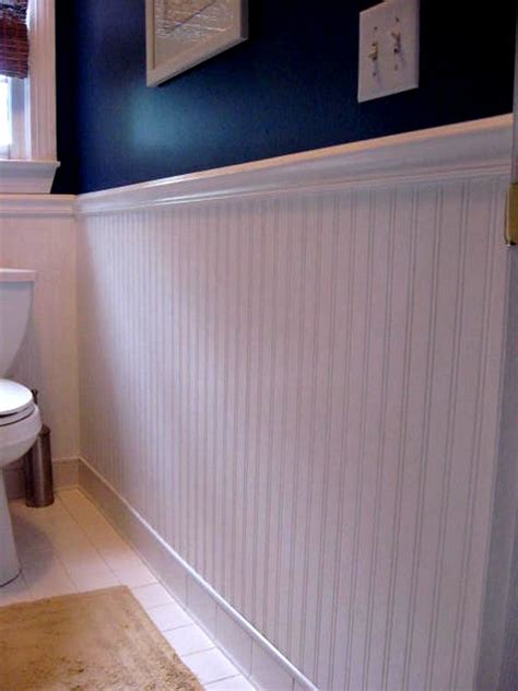 ideas for low cost bathroom updates - Is Beadboard Expensive