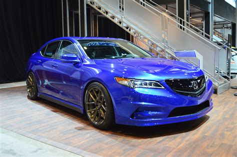 Gas Modified 2015 Acura Concept Tlx Debuts At The 2014