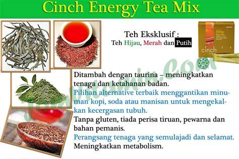 Teh Hijau Shaklee kelebihan dan kebaikan cinch energy tea mix shaklee jom