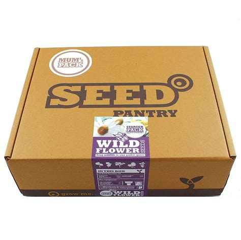 Seed Pantry by Flower Seeds Starter Kit By Seed Pantry