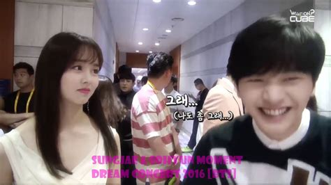 kim so hyun and bts kim sohyun btob sungjae moment taebi dream concert