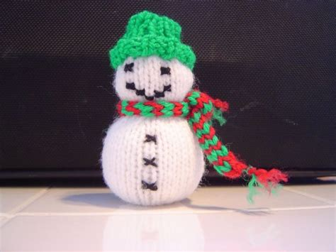 knitted snowman 317 best crochet knit snowman images on
