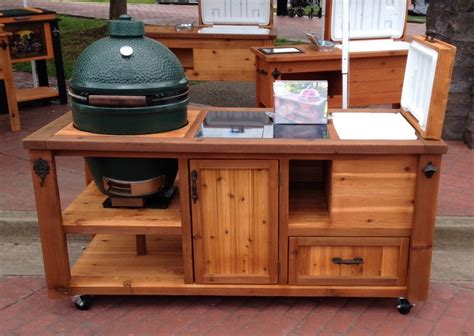 Outdoor Grill Table by How To Build A Rolling Cart For Your Grill Home Design