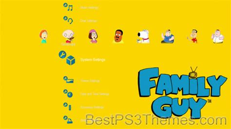 theme to family guy family guy best ps3 themes