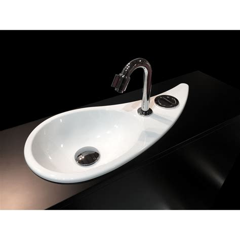 drop in hand wici free flush water drop shaped hand washbasin wici