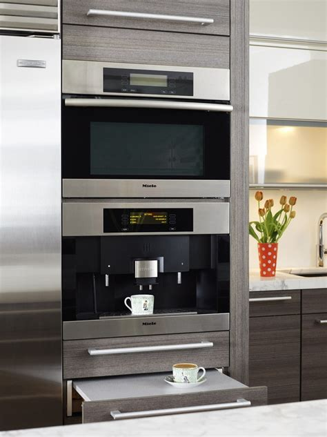 miele built in coffee machine miele in wall espresso machine built ins
