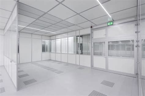 class 10000 clean room fcm freiberger germany modular cleanroom construction by ngs