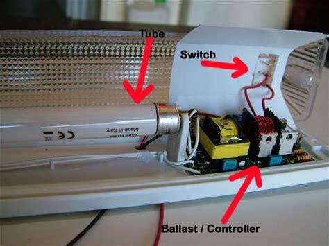 Convert Fluorescent Light Fixture To Incandescent Convert Fluorescent Light Fixture To Led Iron