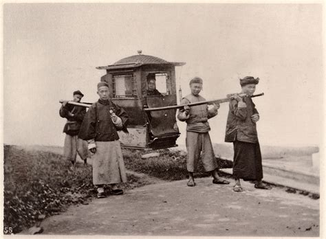 Sedan Chair China by Sedan Chair China Ca 1870 From John Thomson Images Of
