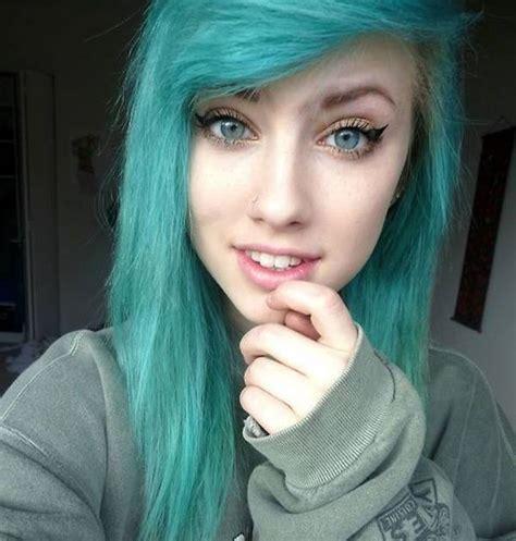 imagenes de peinados tipo emo cortes de cabello y peinados emo para chicas invierno 2018