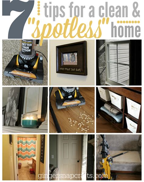 spotless house ginger snap crafts 9 must read posts for spring cleaning