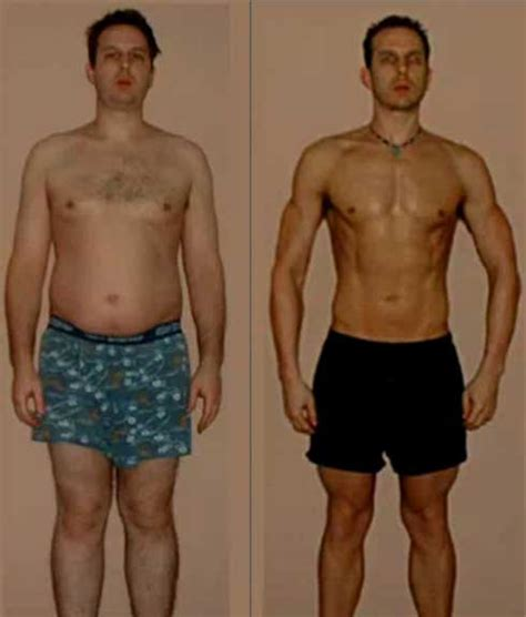 Before Or After by A The Results Of 365 Days Of Exercise