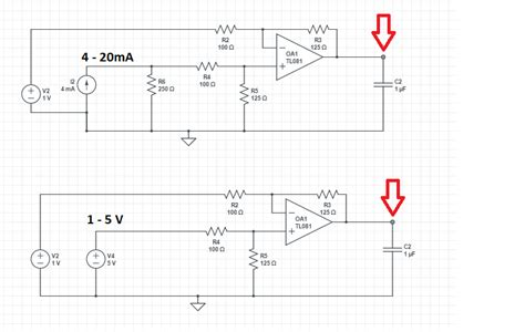 calculate resistor for 4 20ma op converting a 4 to 20 ma signal to 0 to 5v electrical engineering stack exchange
