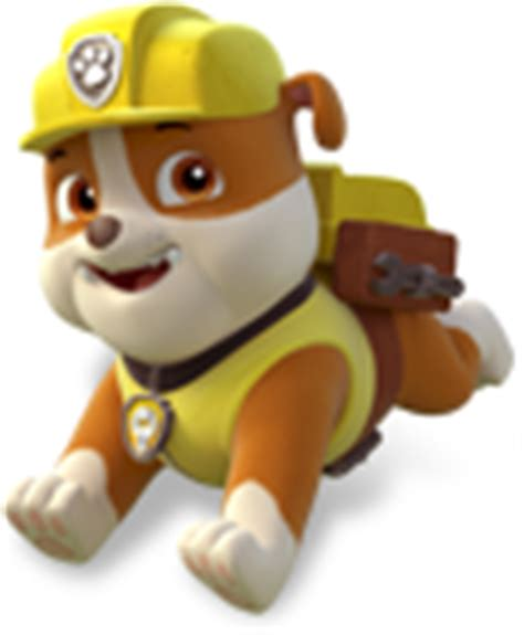 paw patrol party rubble png pictures to pin on pinterest paw patrol images rubble photo 36980638