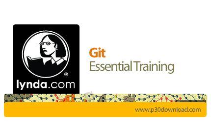 git tutorial lynda دانلود lynda git essential training آموزش گیت نرم افزار