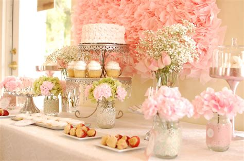 ideas for bridal shower table decorations cheap bridal shower table decorations 99 wedding ideas
