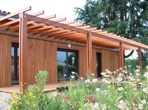 hangar bois agricole une maison bois construite sur les vestiges d un hangar